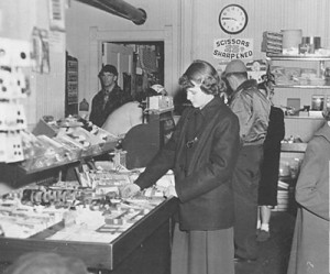 Dime Store in Grayslake, c.1950s