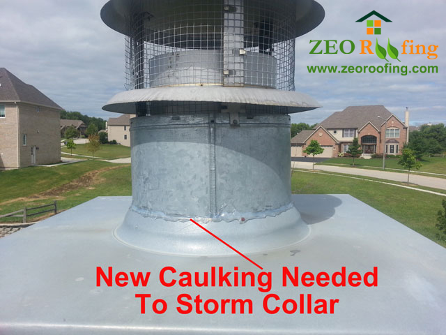 Water In Your Attic May Be A Leak From The Storm Collar