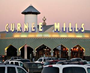 Gurnee Mills At Sunset, Gurnee, IL