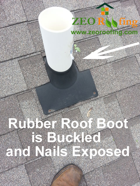 Buckled Rubber Roof Boot